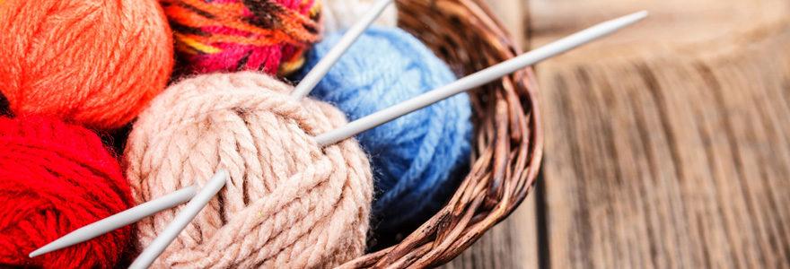 Tricoter avec des kits